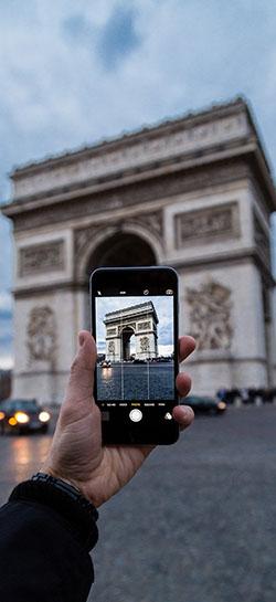 mobilní telefon fotoaparát