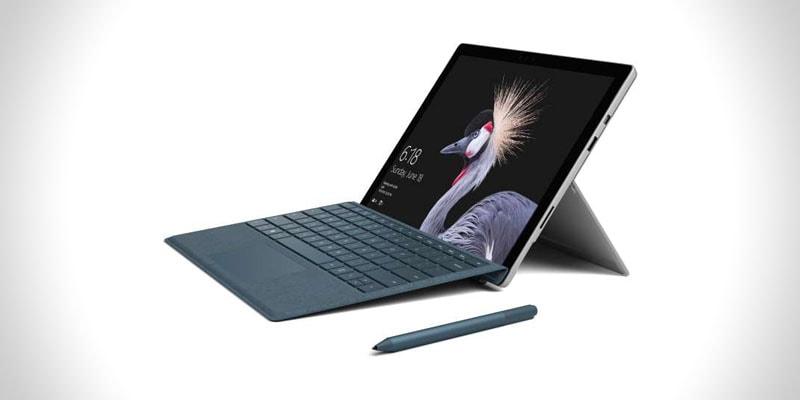 nejlepší windows tablet s klávesnicí surface pro (2017)