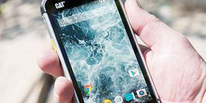 odolný telefon cat s40
