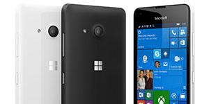 smartphone pro seniory lumia 550
