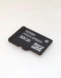 mobilní telefon paměťová karta