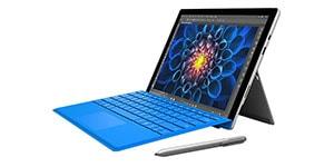 tablet s klávesnicí microsoft surface pro 4