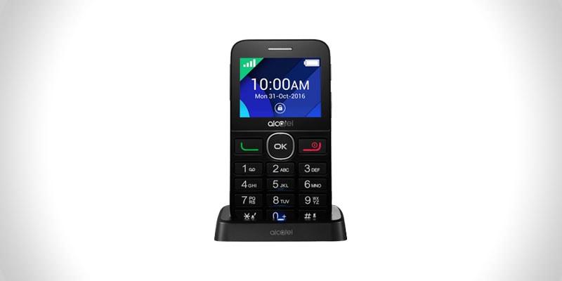 nejlepší mobil pro seniory alcatel ot 2008g