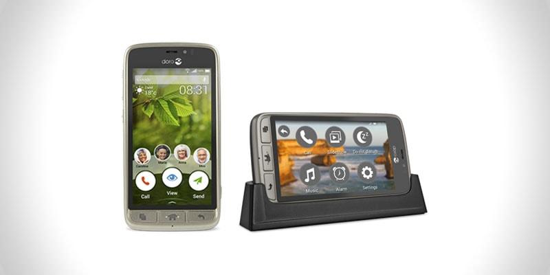 nejlepší smartphone pro seniory doro 8031