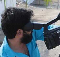 hledáček kamery
