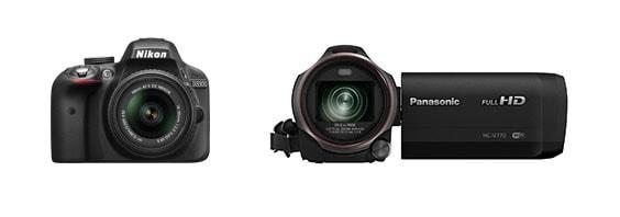 kamera nebo fotoaparát zrcadlovka