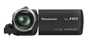 nejlepší rodinná kamera do 5000 kč panasonic hc v180