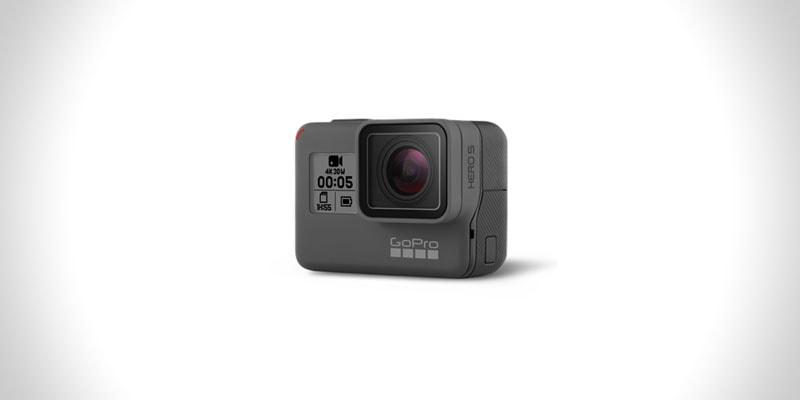 nejlepší sportovní akční outdoorová kamera go pro hero 5 black