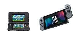 herní přenosné konzole nintendo 3DS switch