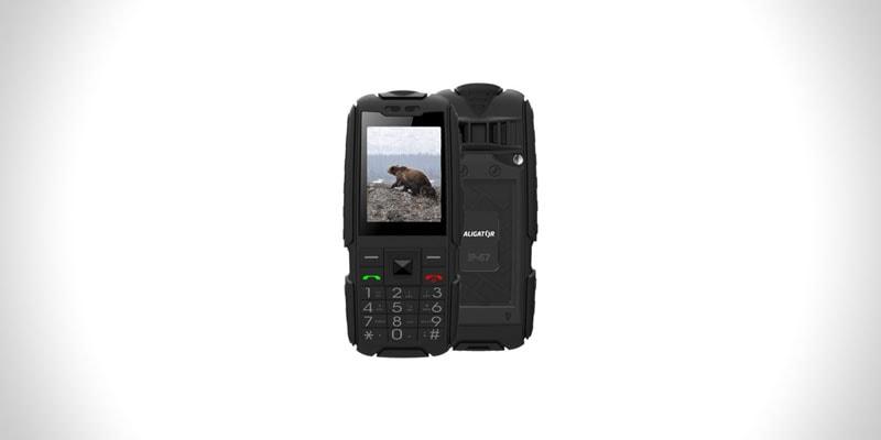 nejlepší odolný telefon s tlačítky aligator r20 extremo