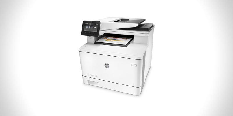 nejlepší barevná tiskárna se skenerem hp m477fdw