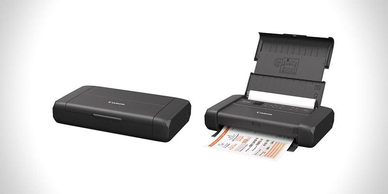 nejlepší plnohodnotná přenosná tiskárna na cesty canon pixma tr150